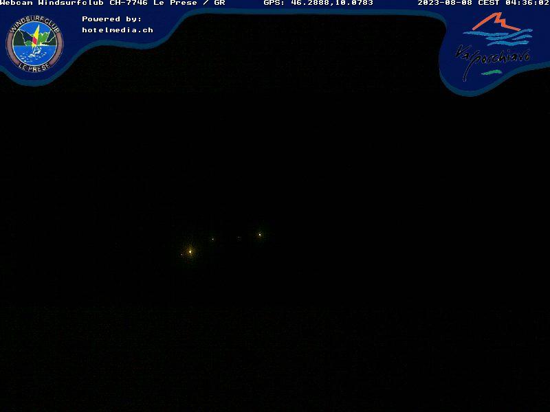 Švýcarsko - Le Prese - Lago di Poschiavo